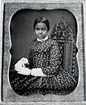 Antique portrait of African American woman