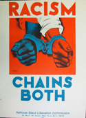 poster: Racism Chains All