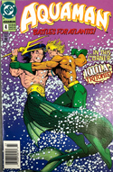 Aquaman comic book, issue 4