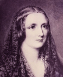 Mary Shelley, from a miniature by Reginald Easton (Bodleian Library, Oxford)