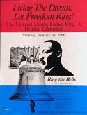 Living the Dream - Let freedom Ring - 1990 poster