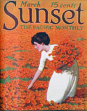 Cover from Sunset magazine, part of the June 2013 exhibit on the seventh floor.
