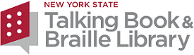 New York State Talking Book and Braille Library logo
