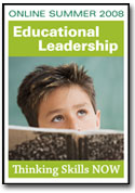 Cover of magazine 'Educational Leadership'.