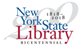 New york State Library - Bicentennial 1818-2018