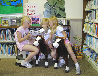 picture from the 2006 Summer Reading Program in Suffolk County, NY.