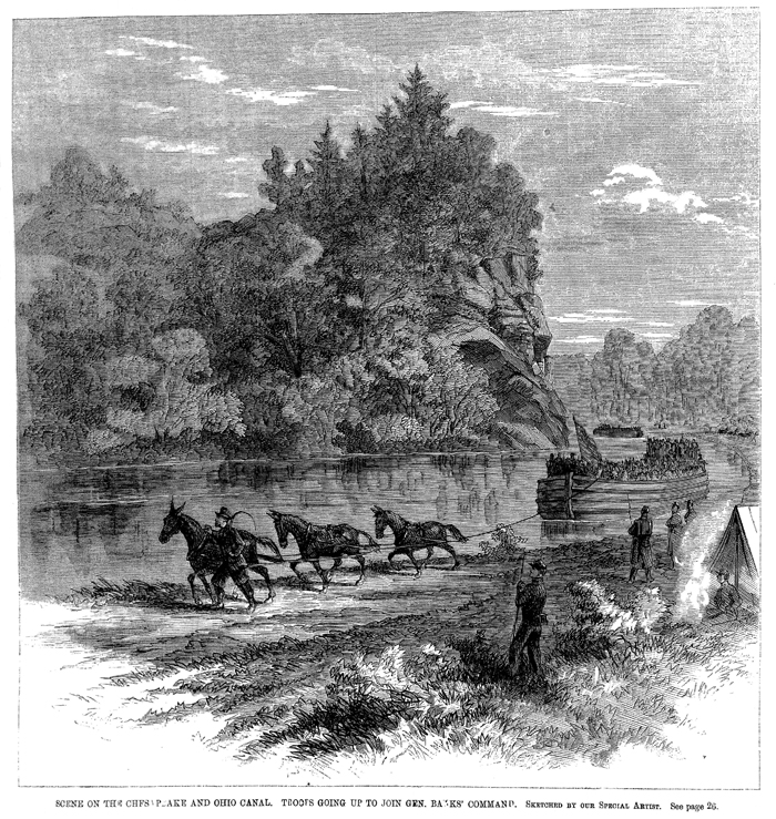 Chesapeake and Ohio Canal: Battle of Ball's Bluff: Online