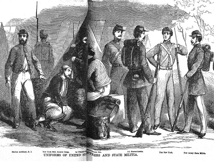 Rhode Island Was Part Of The Union In Civil War